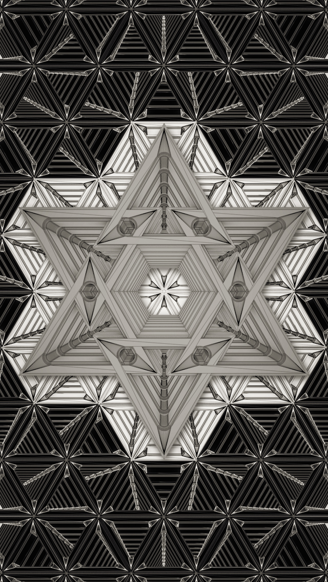 cool geometric graphic design